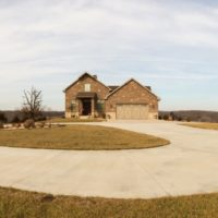 Concrete Driveway and Turnabout