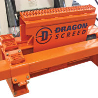 Dragon Screed Skid Loader Attachment for Leveling Concrete and Subgrade