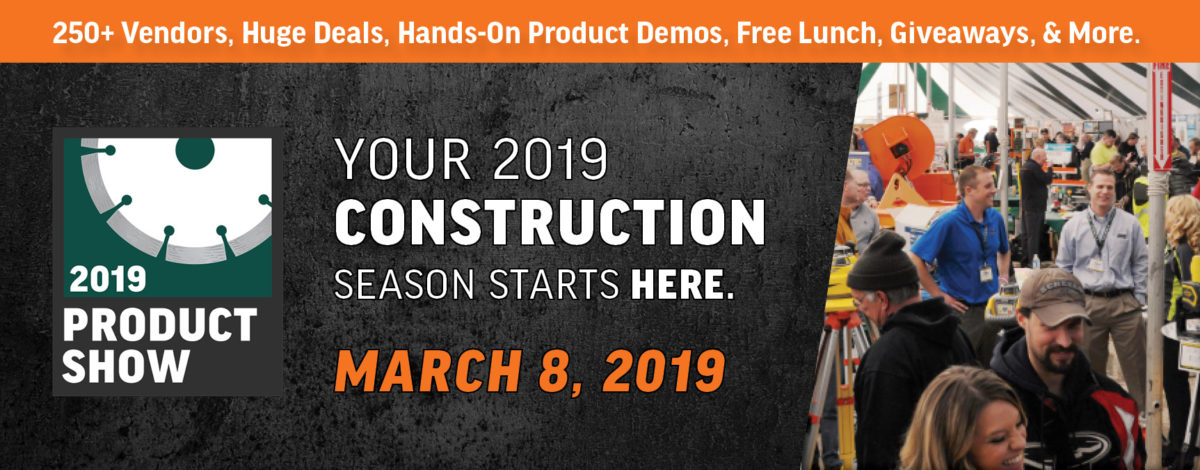 Farrell Equipment & Supply Concrete Event Banner