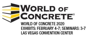 World of Concrete 2020 Banner