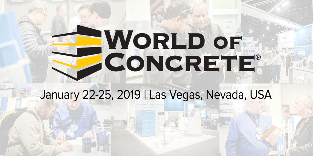 World of Concrete 2019 Banner