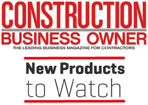 """Dragon Screed is announced by Construction Business Owner Magazine as a """"New Product to Watch"""" for our skid steer powered concrete screed machine."""