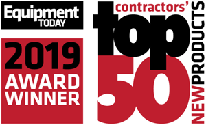 """Equipment Today Magazine award Dragon Screed a """"Top 50 New Products"""" award for our Powered Concrete Screed"""