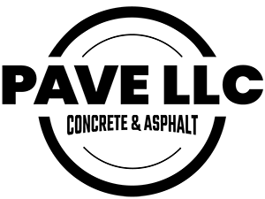 Pave LLC Concrete & Asphalt Logo