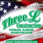 Three L Construction Logo
